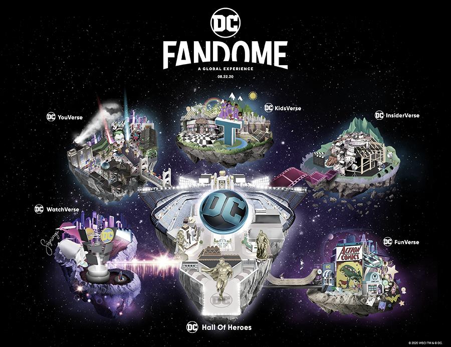 DC Fandome: confirmado su horario