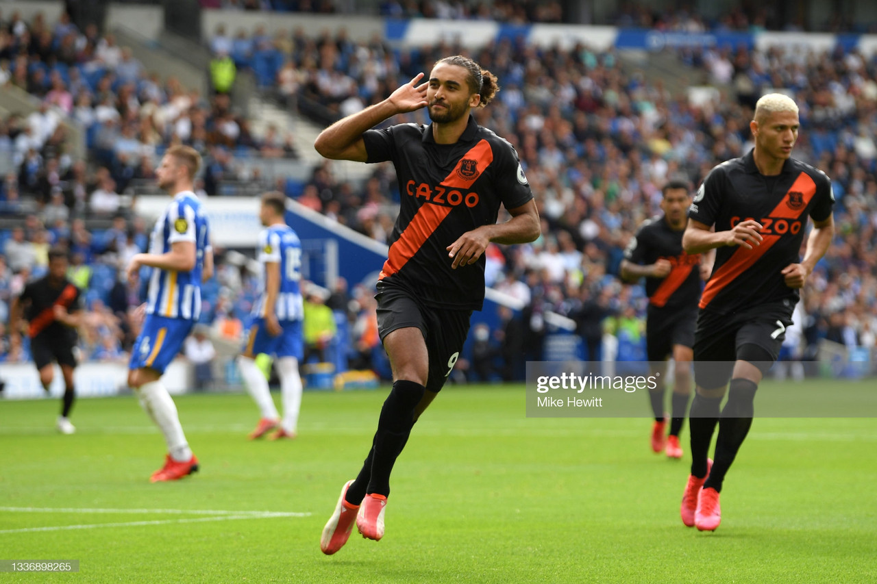 Calvert-Lewin starts season prolifically as forward goes in search of Toffees' records