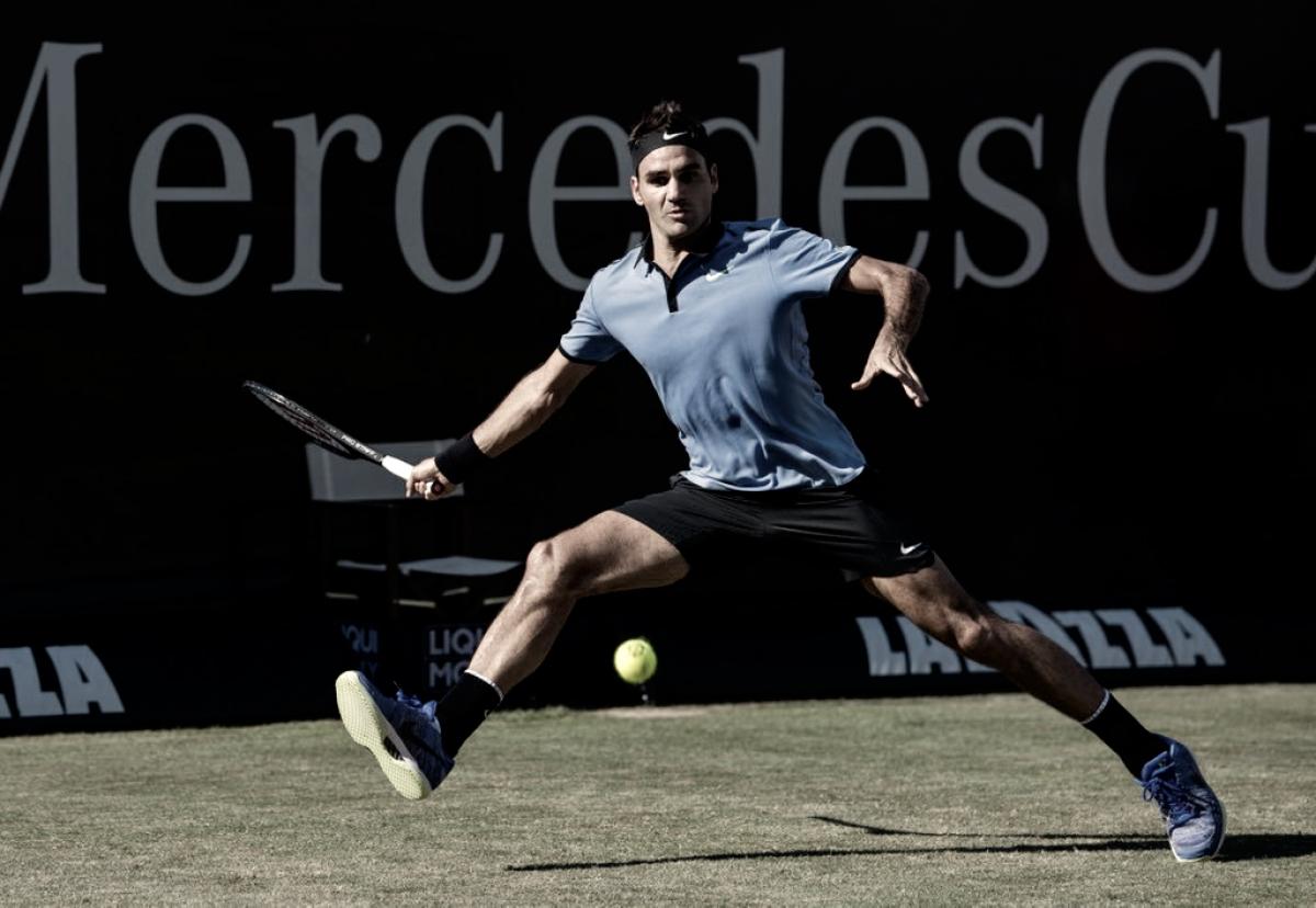 Federer ganó y está en cuartos