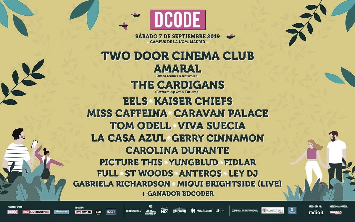 GUÍA VAVEL FESTIVALES 2019: DCODE Festival
