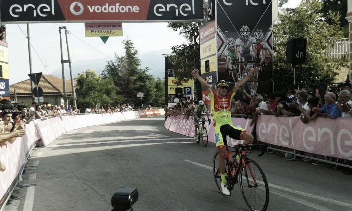 Giro d'Italia U23 - Fuga a Casalincontrada: Romano precede Rosa