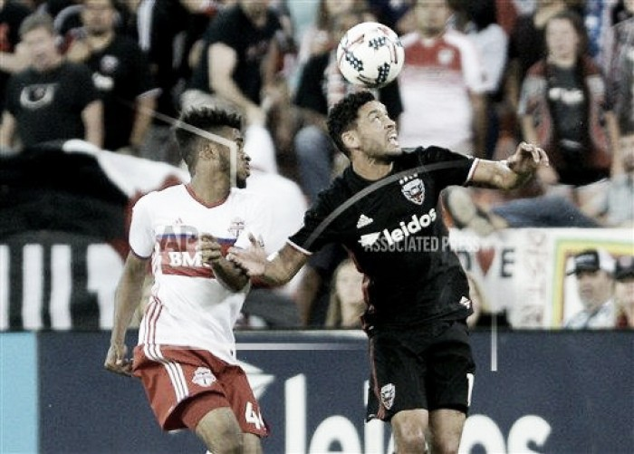 D.C. United hold Toronto FC to a 1-1 draw