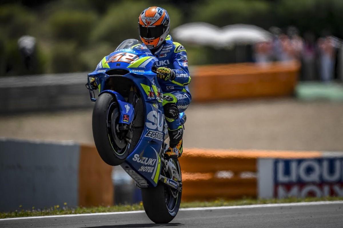 MotoGP - Ufficiale: Alex Rins rinnova con Suzuki