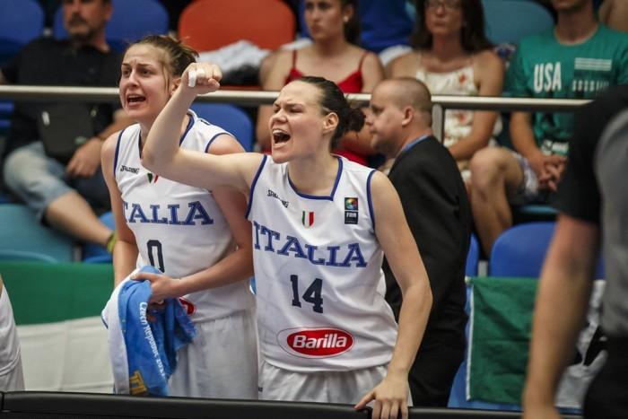 EuroBasket Women 2017 - L'Italia soffre, ma vince contro l'Ungheria e vola ai quarti di finale (49-48)