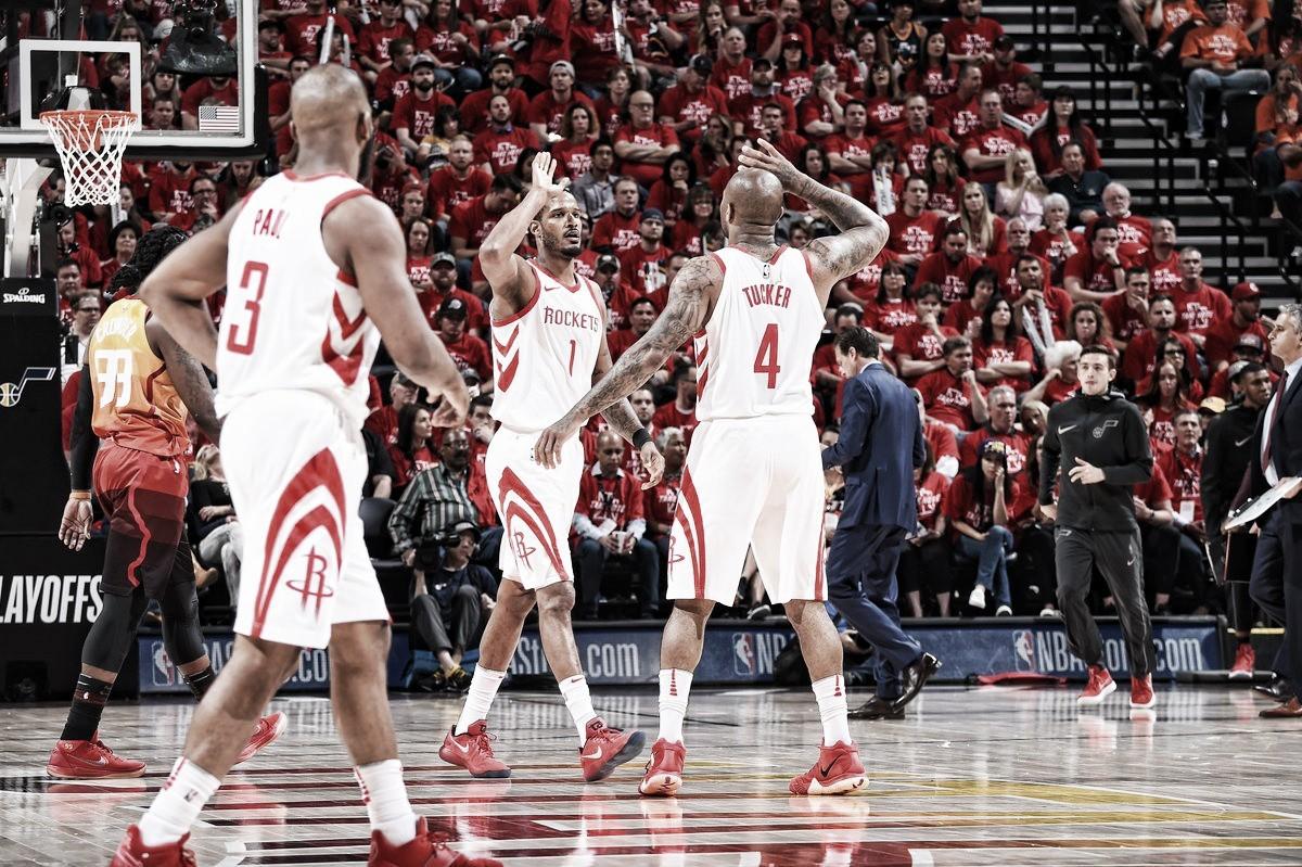 Vencieron los Rockets y lideran la serie