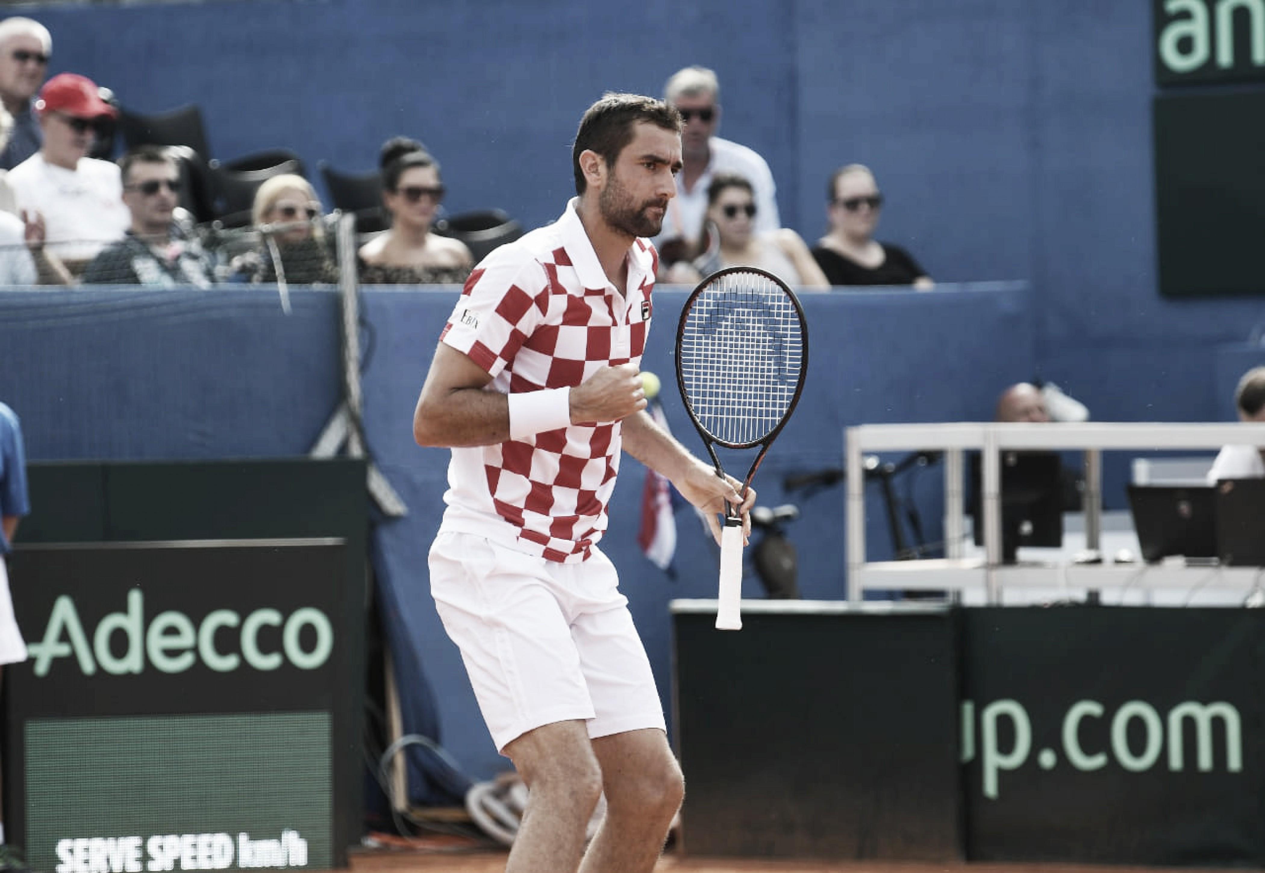 Copa Davis: Croacia lidera la serie ante Estados Unidos