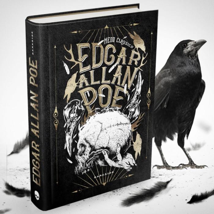 """Terror Clássico"", novo selo da DarskSide Books estreia com Edgar Allan Poe"