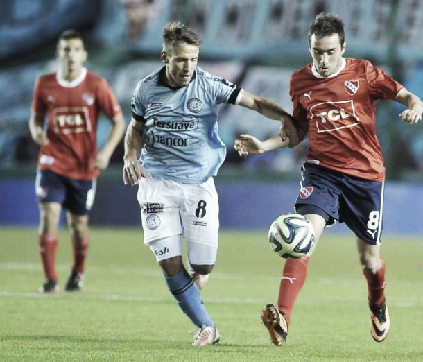 Resultado Independiente - Belgrano 2015 (1-2)
