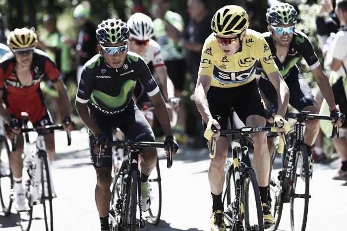 Rigoberto Urán y Nairo Quintana, en el top 10 de la quinta etapa del Tour de Francia