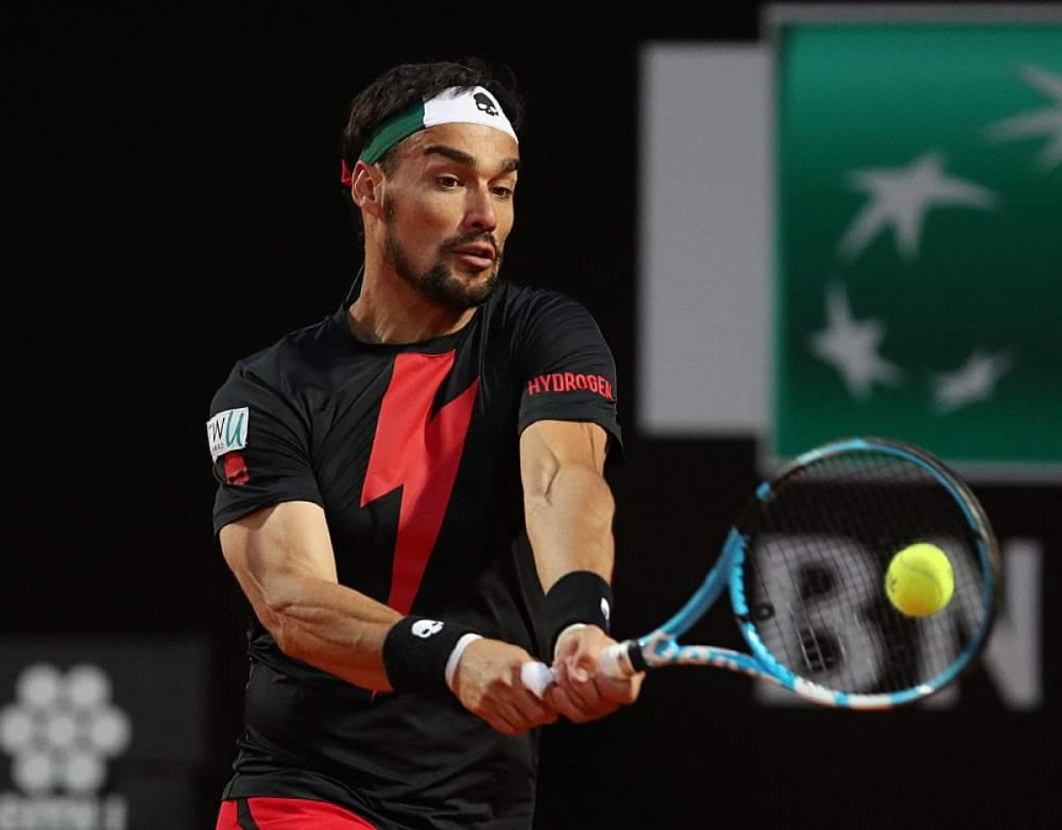 Atp Ginevra, Fognini in semifinale. Out Seppi