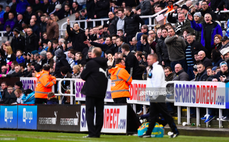 When Newcastle United lost the fanbase