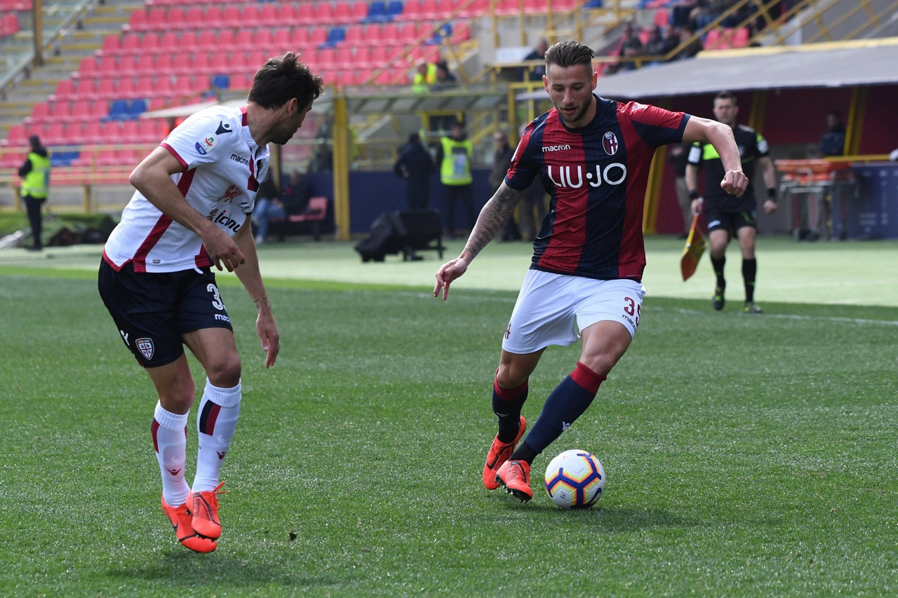 Serie A- Pulgar apre e Soriano chiude. Il Bologna supera il Cagliari (2-0)