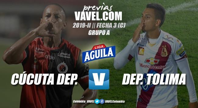 Previa Cúcuta Deportivo vs. Deportes Tolima: tres puntos para definir futuro en los cuadrangulares