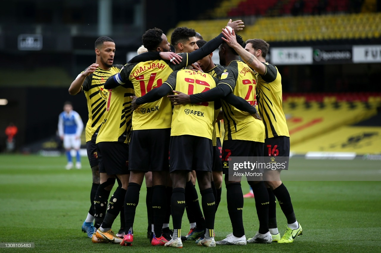 Watford 3-0 Birmingham City: Hornets make it five straight wins in style