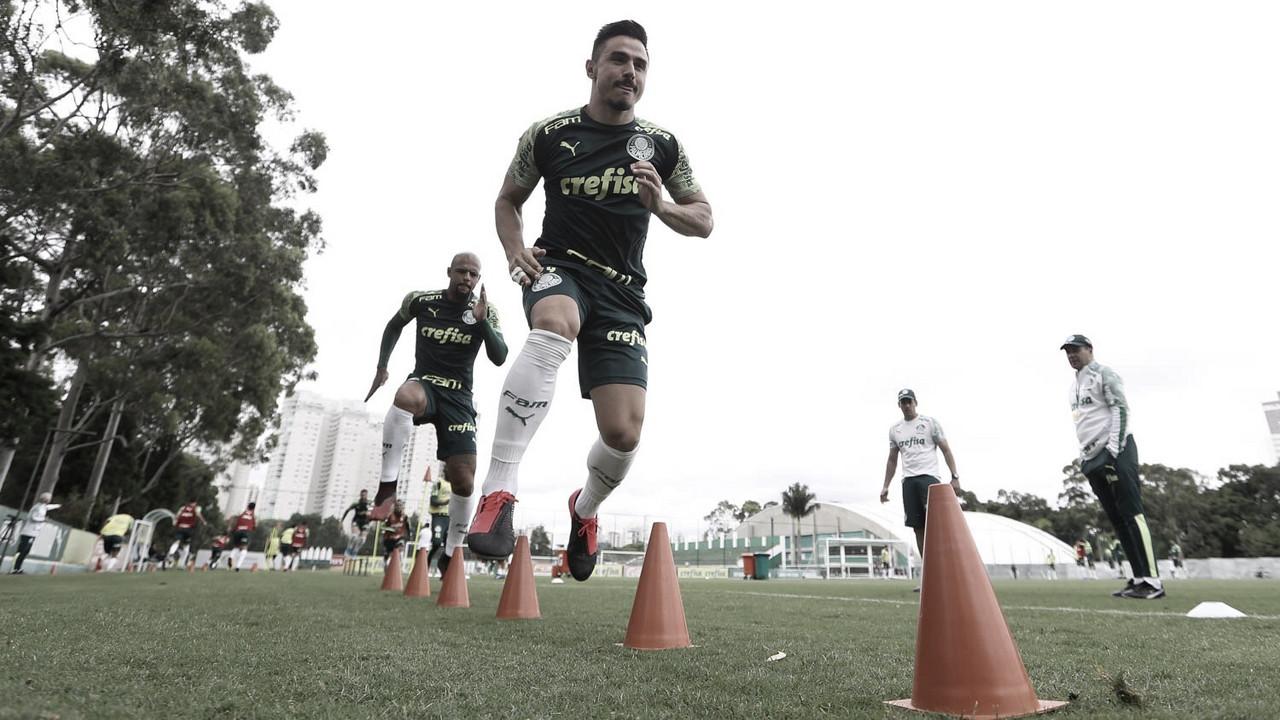 """Willian comemora resultado do Palmeiras na primeira rodada da Libertadores: """"Grande vitória"""""""