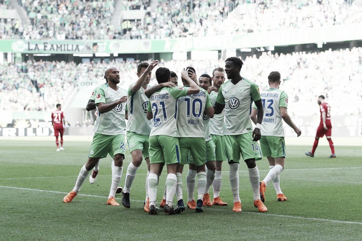 Resumen Wolfsburg 3-1 Holstein Kiel por Bundesliga 2018