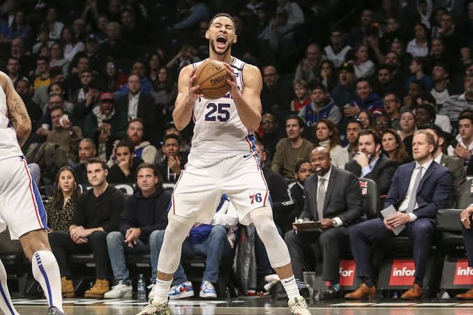 Ben Simmons plays his best ever game in win v Nets