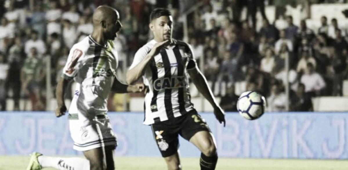 Com reservas, Santos sofre virada do Luverdense, mas assegura vaga nas quartas