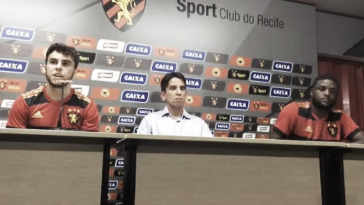 Sander, Marlone e Ronaldo Alves voltam aos treinos no Sport; Andrigo e volante Nonoca são apresentados