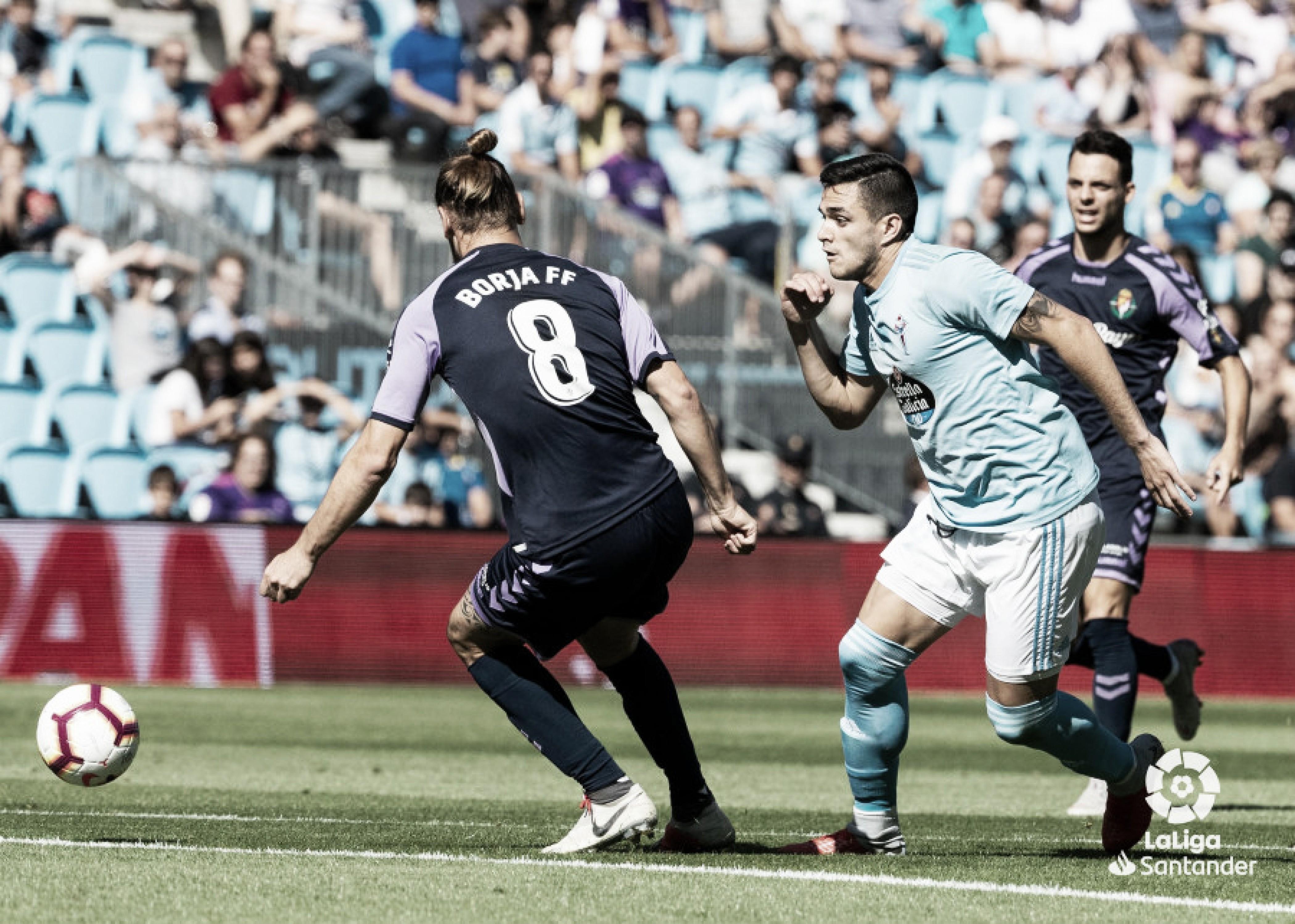 Resumen RC Celta 3-3 Real Valladolid en LaLiga 2018