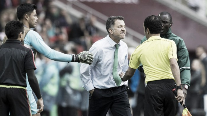 CONCACAF Gold Cup: Juan Carlos Osorio suspended six games as Mexico prepare for Gold Cup