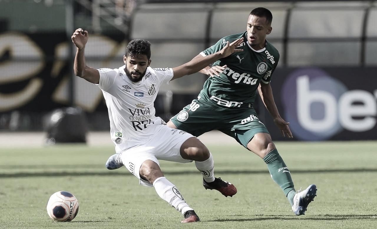 Santos e Palmeiras apenas empatam sem gols pela oitava rodada do Paulistão