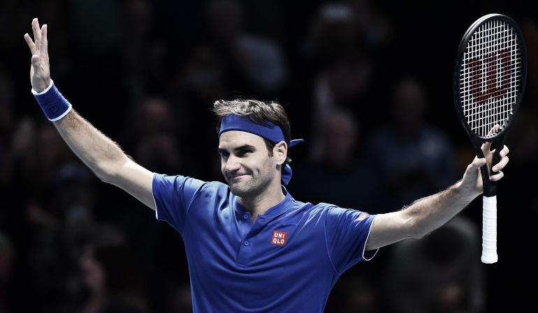 Roger Federer a semifinales del Torneo de Maestros