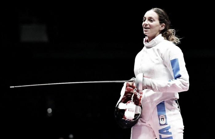 Rio 2016, ottavi spada femminile: rimonta Fiamingo, superata anche la Kong (15-11)
