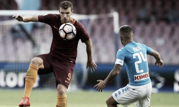 Serie A, Roma - Napoli: le formazioni ufficiali