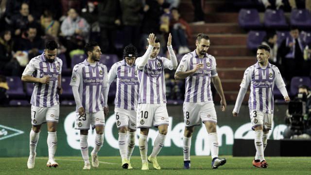 Un Real Valladolid cumplidor avanza en la Copa