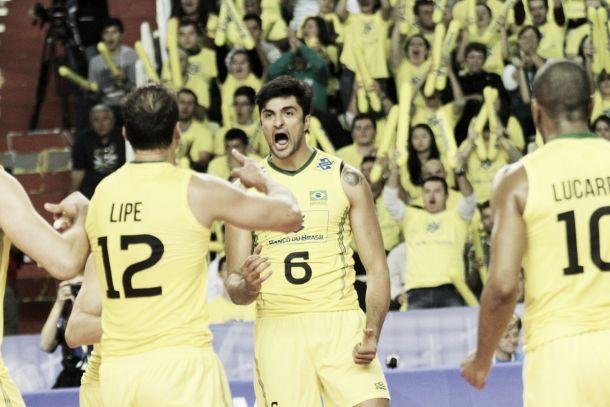 Brasil se recupera de maus resultados na estreia e vence Polônia pela Liga Mundial