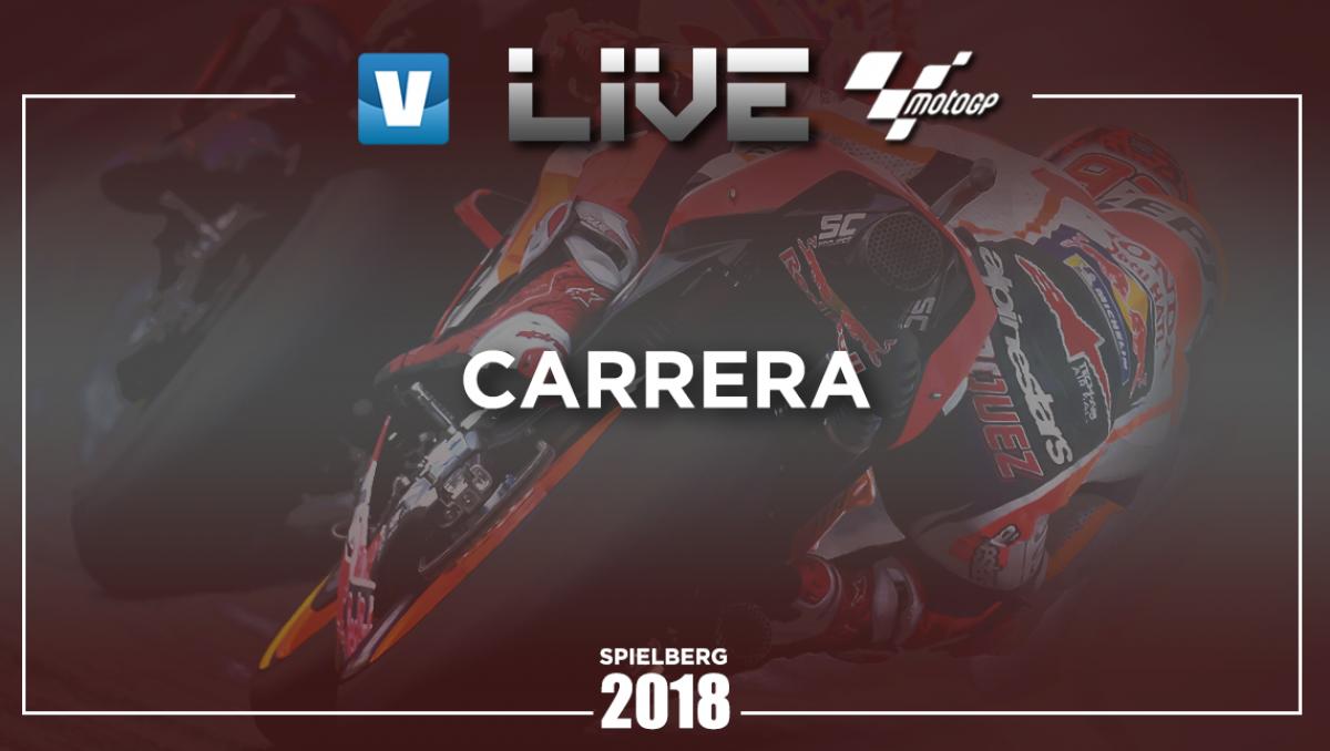 Resumen de la carrera de MotoGP en el GP de Austria 2018