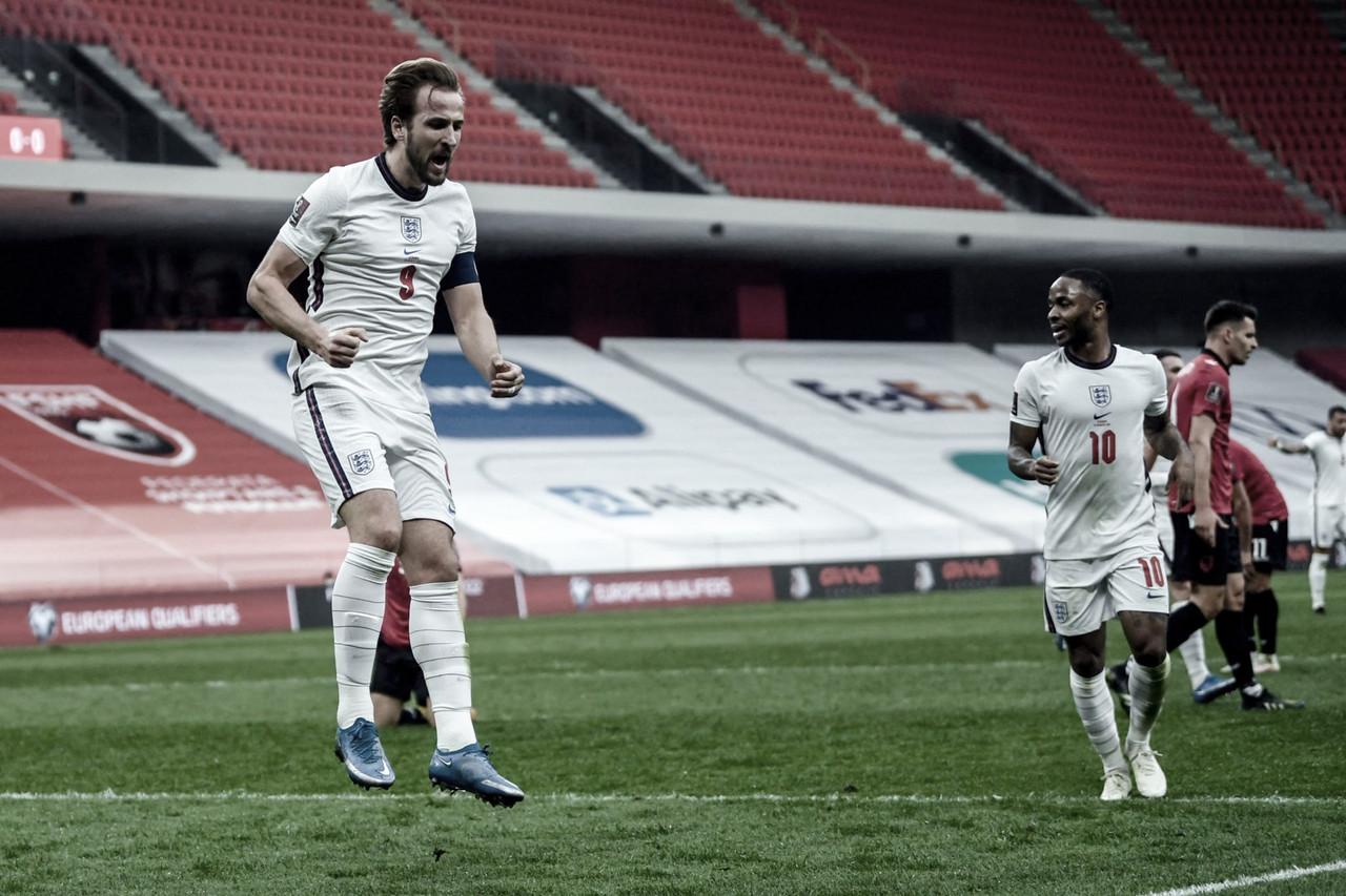 Inglaterra logra una díficil victoria ante Albania