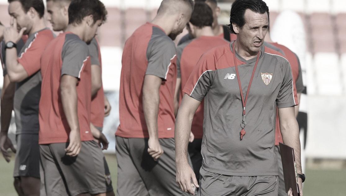 Los números del Sevilla frente a Unai Emery