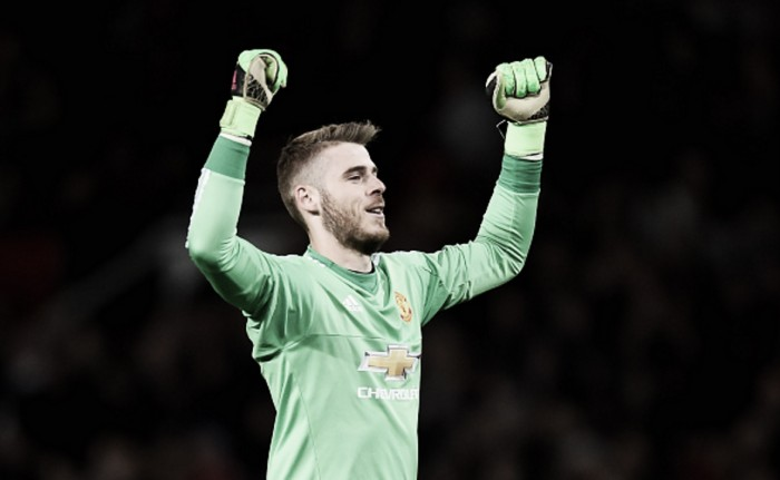 Manchester United's David de Gea named in PFA Team of the Year