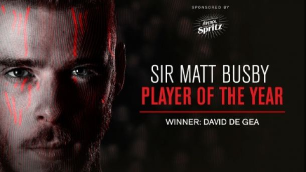 David De Gea wins Fans' and Players' POTY at United awards