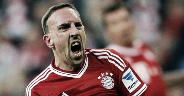 Após cirurgia, Ribery volta aos treinamentos no Bayern
