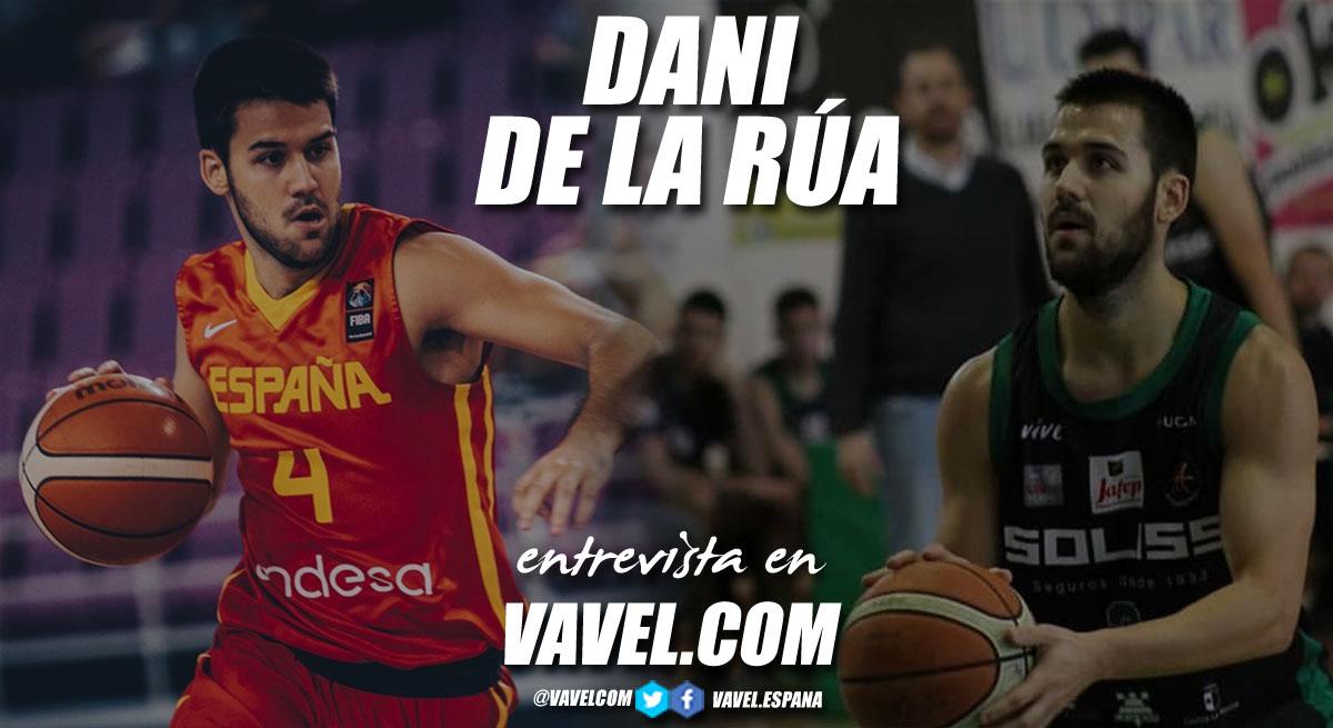 """Entrevista. Dani de la Rúa: """"Mi debut con el Real Madrid fue un momento muy especial"""""""