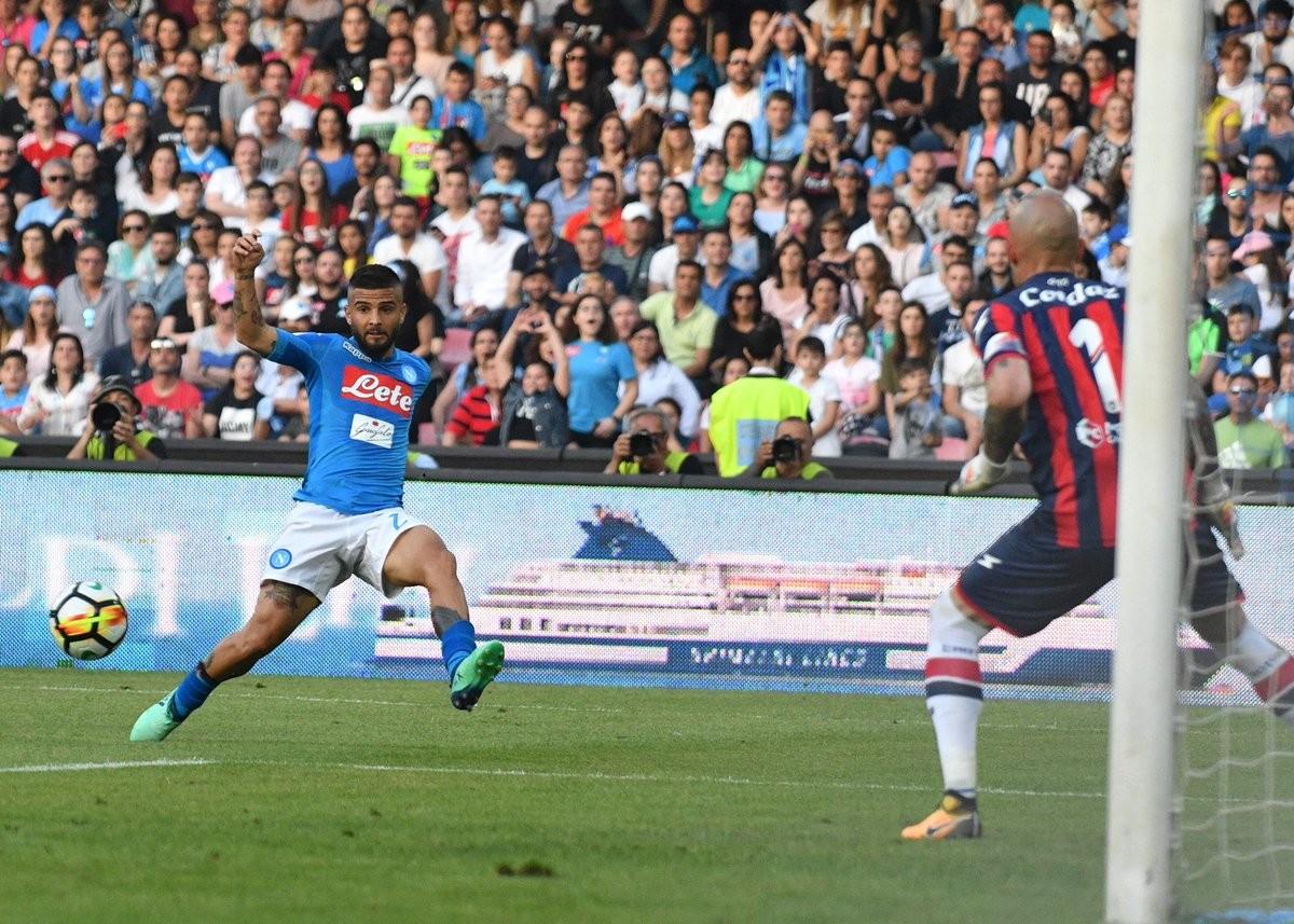 """Napoli - Sarri: """"Il pubblico merita di vincere, se resto voglio provare a ripetermi"""""""