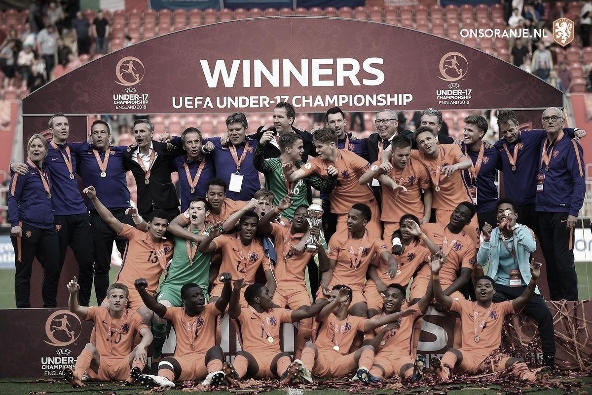 El Europeo Sub 17 se tiñe de 'Oranje'