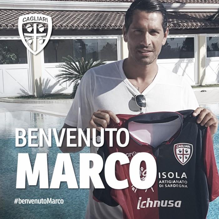 Com passagens por Milan e Roma, atacante Borriello é contratado pelo Cagliari