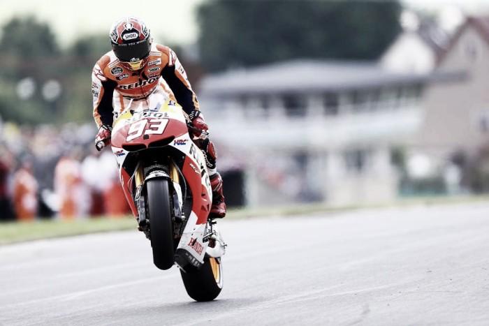 MotoGP, Sachsenring: un perfetto Marquez batte Folger