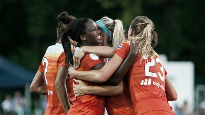 Houston Dash defeat FC Kansas City in comeback victory, 2-1