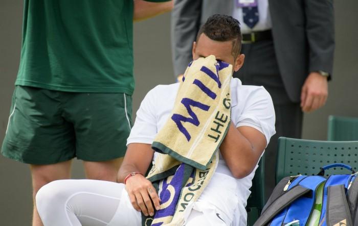 Wimbledon 2017, si ritira Nick Kyrgios