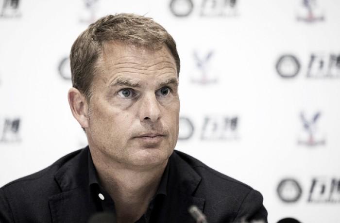 Novo técnico do Palace, De Boer analisará categorias de base antes de comprar algum jogador
