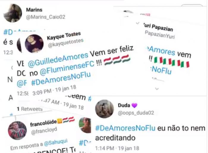 Morrendo 'De Amores': Tricolores abusam do trocadilho após anúncio de novo goleiro