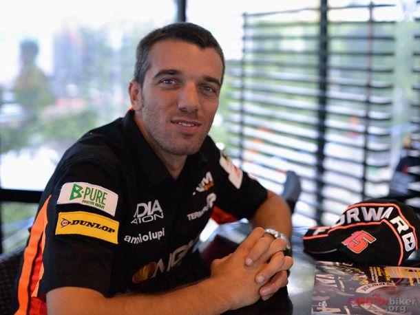 Álex de Angelis podría correr en Superbikes en 2015