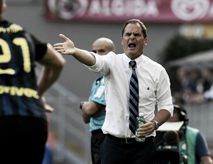 "De Boer critica Kondogbia após empate da Inter: ""Comete os mesmos erros frequentemente"""