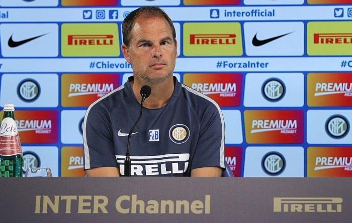 """Inter, De Boer: """"Dopo l'Empoli capirò a che punto siamo. Obiettivo? Dominare la partita"""""""