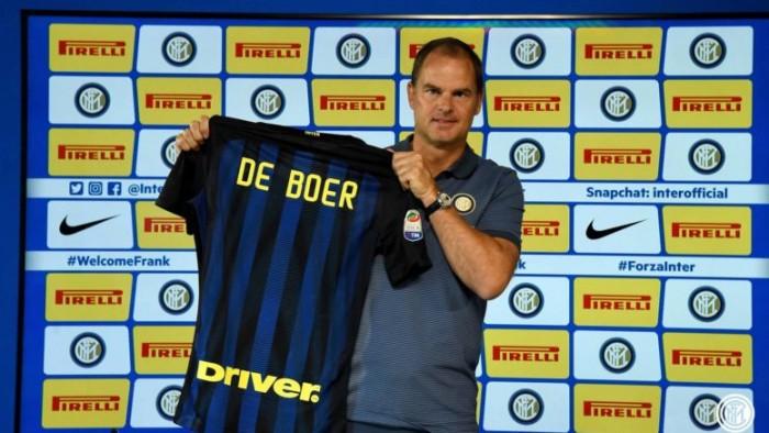 """Inter, De Boer chiede il cuore all'esordio: """"Lottiamo gli uni per gli altri, sono qui per vincere"""""""